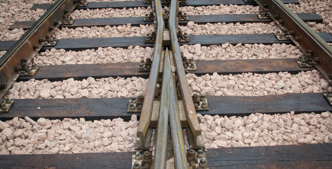 German rail: Choosing the right track