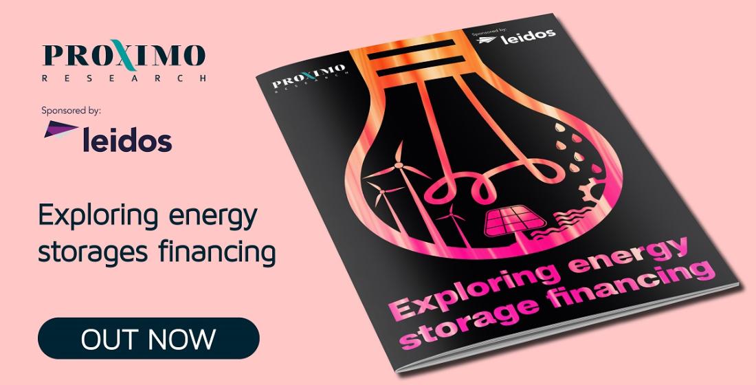 Exploring energy storage financing