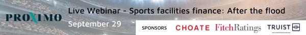 Stadium finance webinar banner